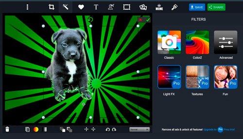 Как заменить фон на фото онлайн - бесплатные сервисы