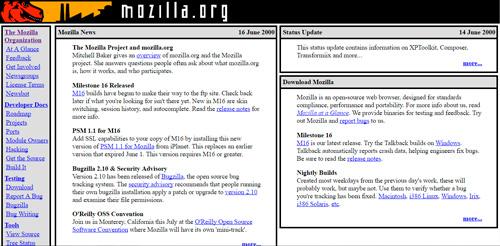 Узнайте как выглядел сайт в прошлом. И о том, как изменялись популярные сайты за 20 лет