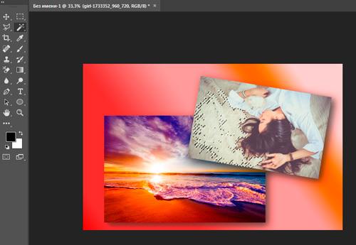 Как быстро и самостоятельно сделать красивый коллаж в Photoshop