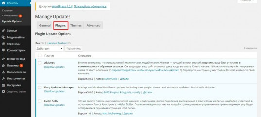 Как быстро и легко обновлять WordPress до нужной версии вручную и автоматически