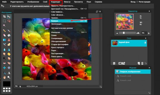 Как быстро обрабатывать фотографии и картинки в онлайн фотошопе. А также где найти лучшие уроки работы с дизайном