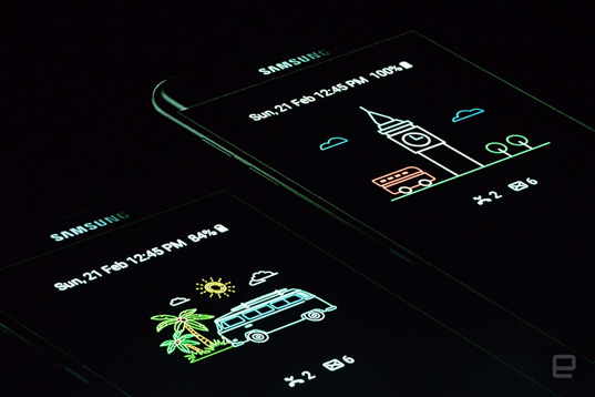 Samsung анонсировала Galaxy S7 и Edge