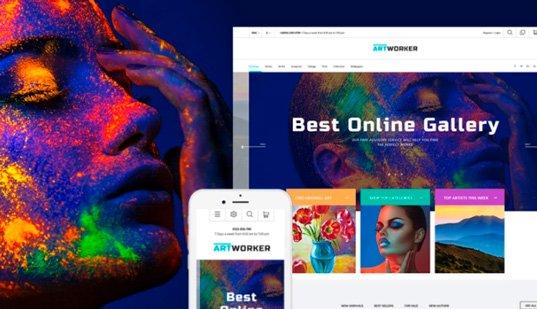 Редизайн 20 сайтов звезд эстрады СНГ