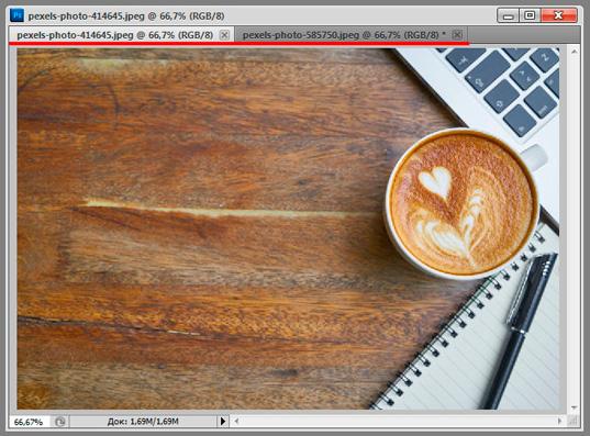 4 самых простых и удобных способа совместить изображения в Photoshop