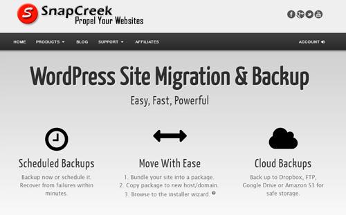 Простой и быстрый переезд сайта на WordPress на другой хостинг