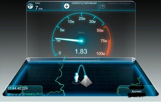 Как быстро замерить скорость интернета. SpeedTest вам в помощь