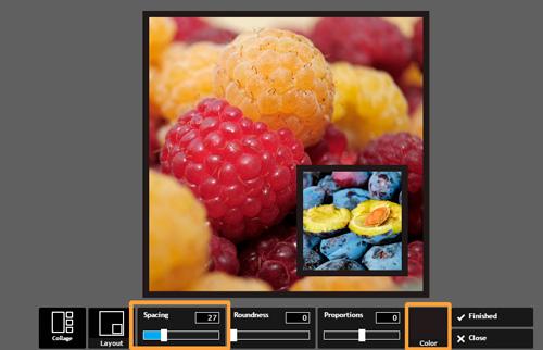 Накладываем картинку на картинку в онлайн сервисе