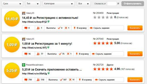 Вся правда о возможности заработка на лайках в Vkontakte
