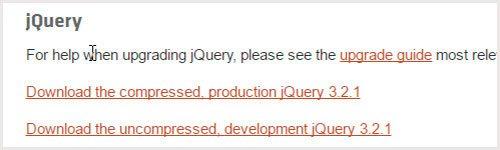 Как на своем сайте подключить jquery