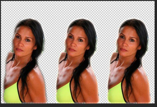 Как быстро размыть края изображения в программе Photoshop