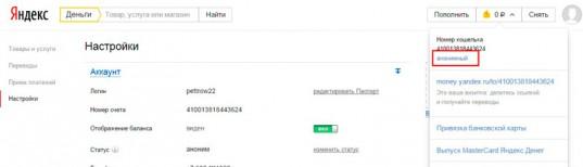 Быстрая идентификация в Яндекс Деньгах в России, Украине, Белоруссии и других странах СНГ