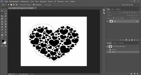 5 способов быстро вырезать картинку по контуру в Photoshop