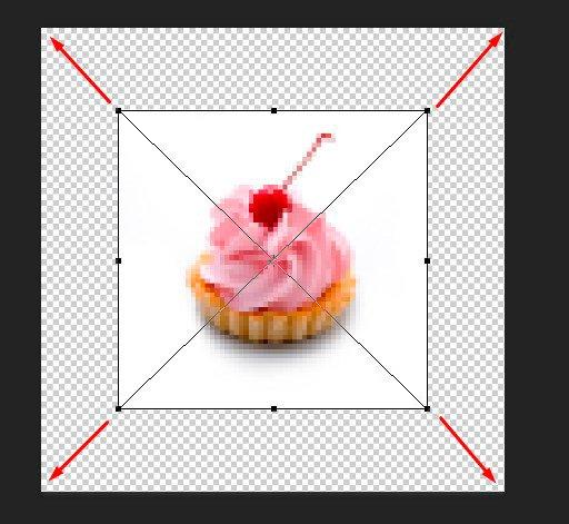 Как растянуть фотографию