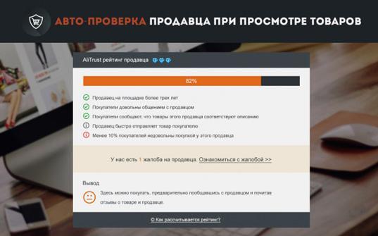 Aliexpress получил расширение для браузера