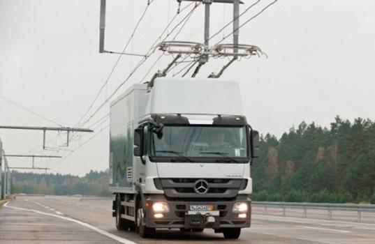 Новый вид электродорог проходит испытания в Швеции
