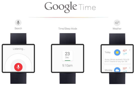 Часы от Google с новой операционной системой