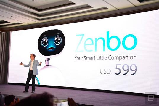 Забавный робот-питомец по кличке Zenbo от Asus