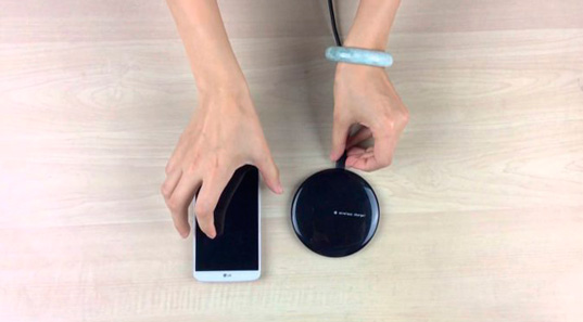LG занимается разработкой более эффективной беспроводной зарядки