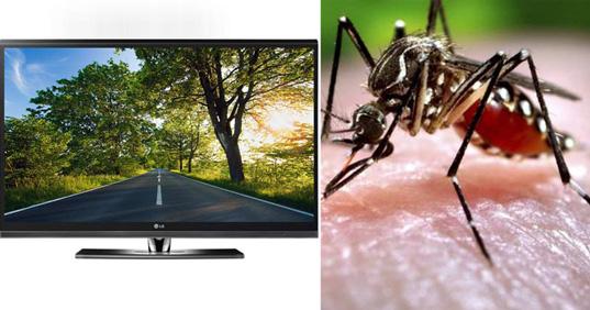 Новые телевизоры LG будут отпугивать комаров
