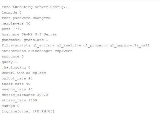 Простая и понятная инструкция по созданию сервера SAMP