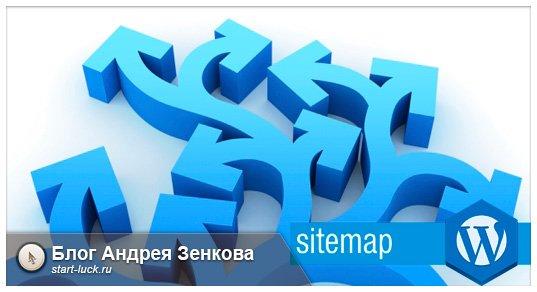 плагин карты сайта для вордпресс
